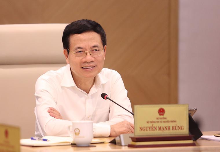 Bộ trưởng Bộ Thông tin và Truyền thông nhấn mạnh: Covid-19 là cú huých trăm năm cho chuyển đổi số.