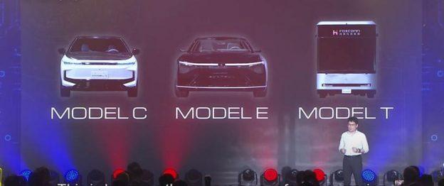 Những mẫu xe điện mới được Foxconn công bố cách đây ít hôm.